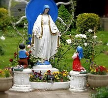 Our Lady of Lourdes by henuly1