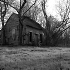 Swamp Shack - BW by Chipper