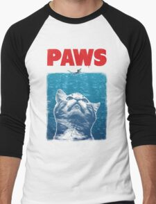 Paws Men's Baseball ¾ T-Shirt