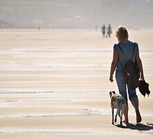 A Walk on the Beach by jonshort58