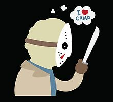 I Love Camp by murphypop