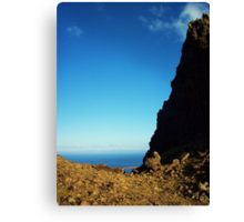 Into The Blue- Isle Of Skye Canvas Print