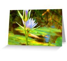 Waterlily # 3 Greeting Card