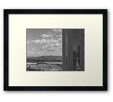 Room View Framed Print