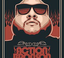 Action Bronson by FBananaworks