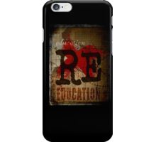 Education is freedom. iPhone Case/Skin