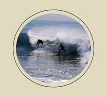 Surfs up by Charles Hallsted