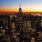 Sunset in the Concrete Jungle by Christy Hoffman