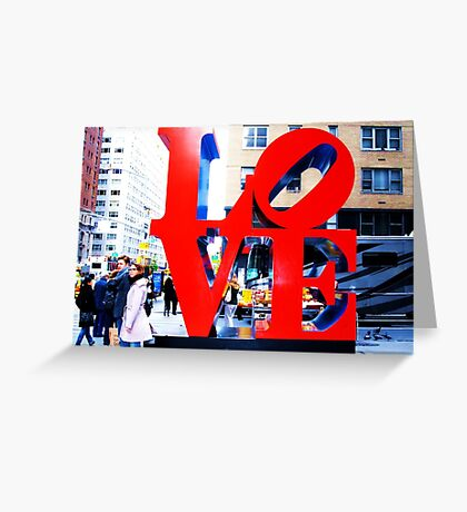 Love in the Big Apple Greeting Card