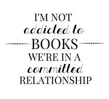 Committed Relationship  by bookscupcakes