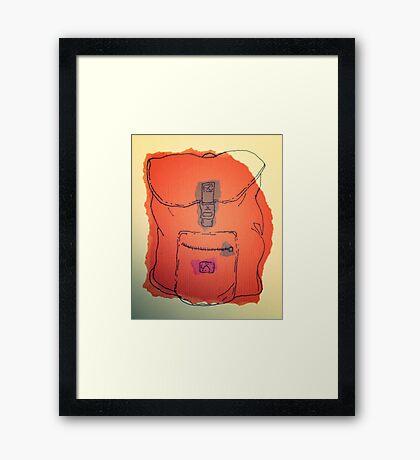 rucksack 1 Framed Print