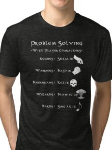 Problem Solving with Player Characters Tri-blend T-Shirt