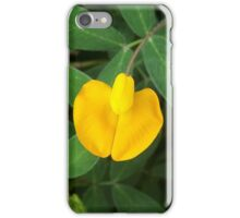 Bean Yellow Flower iPhone Case/Skin