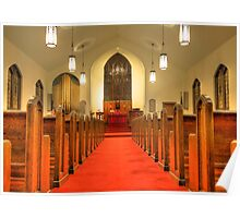 St. Peter's Evangelical Lutheran Church Poster