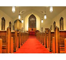 St. Peter's Evangelical Lutheran Church Photographic Print