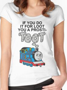 Prosti-TOOT Women's Fitted Scoop T-Shirt