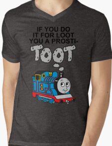 Prosti-TOOT Mens V-Neck T-Shirt