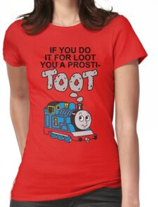 Prosti-TOOT Womens Fitted T-Shirt