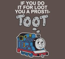 Prosti-TOOT! White Text by BiggStankDogg