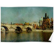 Prague - Charles Bridge Poster