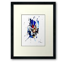 "Viewtifuldrew ""Ink."" Framed Print"