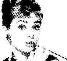 Audrey Hepburn by 547Design