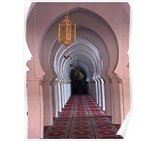 Koutoubia Mosque, Marrakech, Morocco Poster