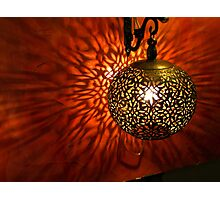 Moroccan Lantern Photographic Print