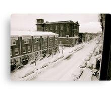 A Ghetto Snowstorm Canvas Print