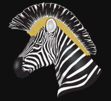 Trojan Zebra One Piece - Short Sleeve