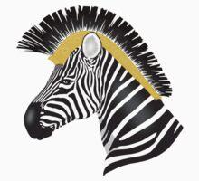 Trojan Zebra One Piece - Long Sleeve
