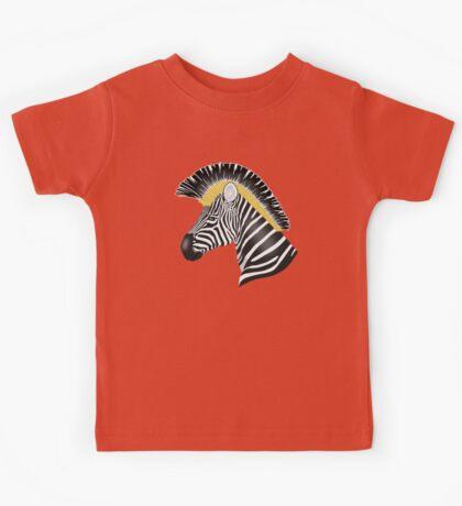 Trojan Zebra Kids Tee