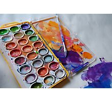 Color Me Messy  Photographic Print