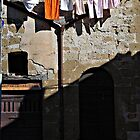 Darkened Door-Pitigliano, Italy by Deborah Downes