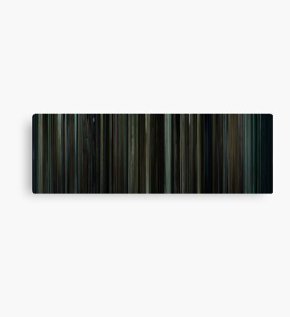 Moviebarcode: Fight Club (1999) Canvas Print