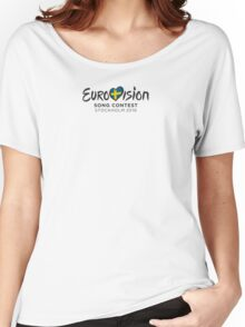Eurovision Song Contest 2016 Women's Relaxed Fit T-Shirt