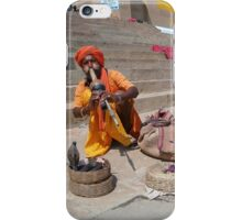 Indian Snake Charmer iPhone Case/Skin