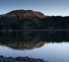 Sawmill Lake sunset by Dory Breaux
