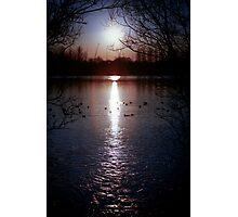 Sunset Sale Photographic Print