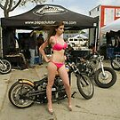 Bikini biker by Larry  Grayam