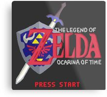 The Legend of Zelda: Ocarina of Time Metal Print
