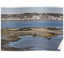 Freeport Maine Coast Poster