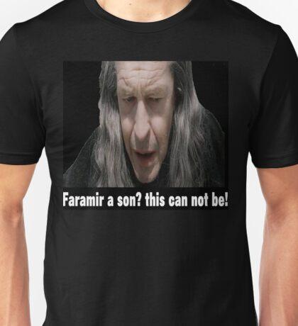 faramir a son? Unisex T-Shirt