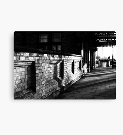Path To The Station Canvas Print