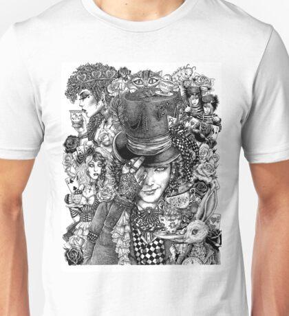 Hatter's Tea Party Unisex T-Shirt