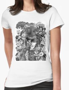 Hatter's Tea Party Womens Fitted T-Shirt