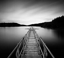 Platform - Kennick Reservoir by Keith  Aggett