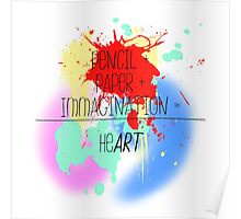 heART. - colorful Poster