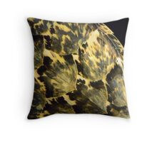 Sea Turtle Shell Pattern Throw Pillow