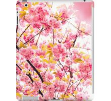 Pink Floral Sunshine iPad Case/Skin